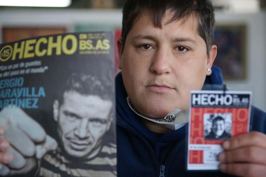Patricia Merkin y Hecho en Buenos Aires. La revista que es más que una revista