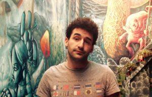 Mariano Viceconte, de El Quetzal Casa Cultural. La cultura no se clausura