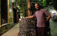 José Luis Gallego, cuentacuentos: volver al círculo de hombres alrededor del fuego