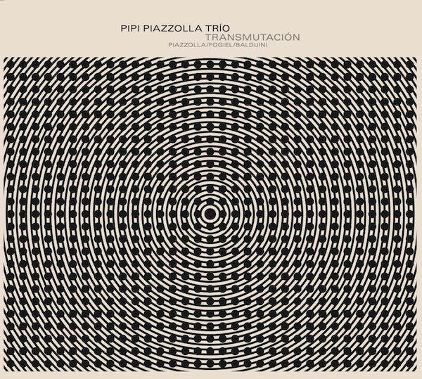 Pipi Piazzolla Trio, edición Club del Disco, diseño de Max Rompo